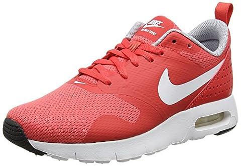 Nike Unisex-Kinder Air Max Tavas Bg Sneaker, Rot (Track Red/White-Wolf Grey Black), 35.5 EU