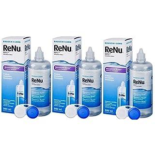 Bausch & Lomb ReNu MPS Sensitive Eyes Pflegemittel für weiche Kontaktlinsen 3 x 360ml