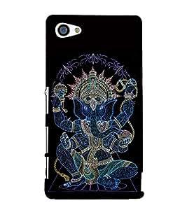 Lord Ganesha 3D Hard Polycarbonate Designer Back Case Cover for Sony Xperia Z5 Premium :: Sony Xperia Z5 Premium Dual