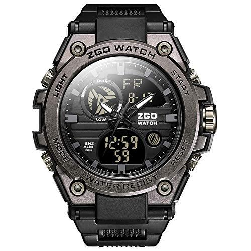 WERTY&K Reloj Deportivo De Cuarzo para Hombre, Reloj De Pulsera Electrónico Militar...