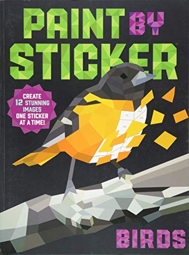 Paint by Sticker: Birds por Workman Publishing