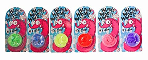 Wriggly Woolly Worm - Assorted Colours - House of
