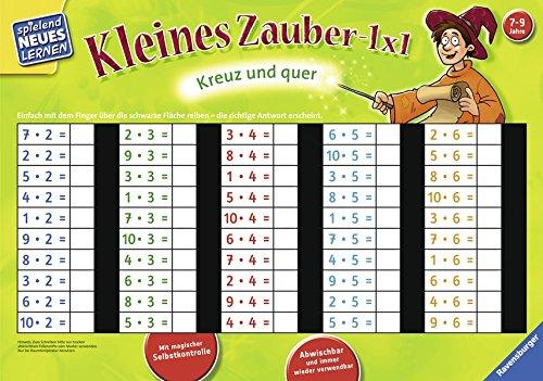 Kleines Zauber-1x1: Kreuz und quer (Spielend Neues Lernen) (Kleine Kinder Spiele)