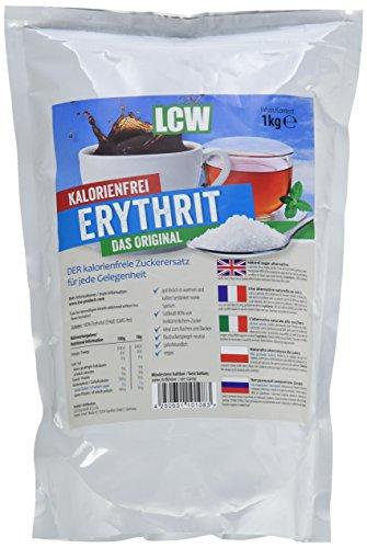 Preisvergleich Produktbild LCW Erythrit -Zuckerersatz,  1er Pack (1 x 1 kg)