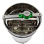 Stainless steel Honey Extractor (Manual 4 frame) from Easipet (00127A) 11