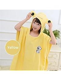 3f710405aa Towelling Bath Robe Children s Cartoon Dog Bathrobe Beach Bath Towel Cloak  Cotton Hooded Bathrobe Wrap Nightwear