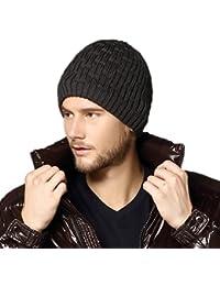 Kenmont Hiver Chaud Hommes Unisexes Bonnet Tricoté Ski Extérieur Bouchon Earflap Bonnet