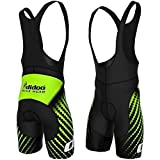 Didoo New Mens Cycling Bib Shorts Padded Pants Bicycle Trousers Skin Fit Bike