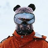 Beardo ® Original Sturmhaube Sturmhauben HD (verschiedene Designs) | Skimaske, Kälteschutz, Gesichtsschutz, Sturmmaske (Bär)