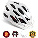 Shinmax Specialized Bike Helmet with Safety Light Adjustable Sport Cycling Helmet Bike Bicycle
