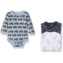 Care Body Bebé-Niños pack de 3 o pack de 6, Multicolor (Royal Blue), 56