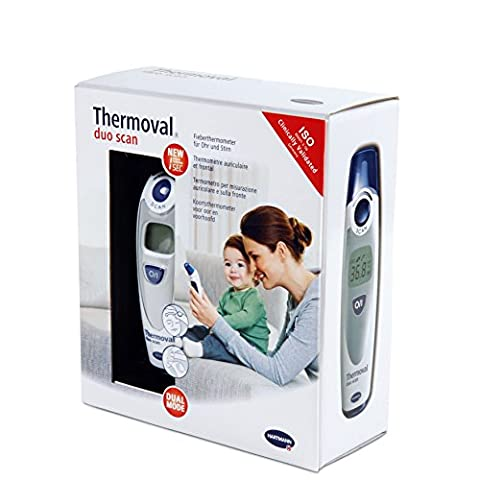 Thermometre Auriculaire & Frontal Infrarouge - THERMOVAL DUO SCAN - Hartmann