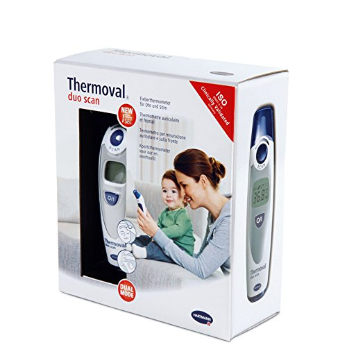 Thermoval Duo Scan Ear Thermometer