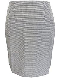 24ca88cb5e48 Relco Ladies Retro Rude Girl Dogtooth Pencil Skirt