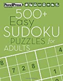 500+ Easy Sudoku Puzzles for Adults: Sudoku Puzzle Books Easy (with answers)