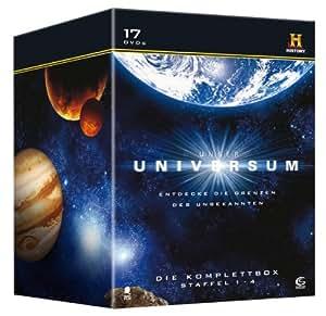 Unser Universum - Die Komplettbox, Staffel 1-4 (History) [17 DVDs]