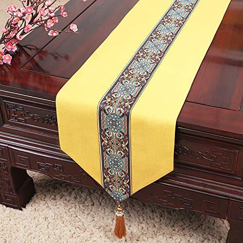 Neue minimalistische Tischfahne moderne Gartentischdecke Couchtischdecke Tischset Bettfahne...