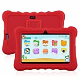 7' Kids Tablet PC, Ainol Q88 Android 4.4 External 3G 8GB ROM 512MB RAM Tablet with Dual Camera WIFI USB Phablet (Red)