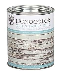 Kreidefarbe Shabby Chic Lack Landhaus Stil Vintage Look 1kg (Mint)