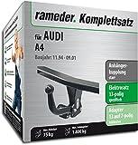 Rameder Komplettsatz, Anhängerkupplung Starr + 13pol Elektrik für Audi A4 (112717-00253-1)