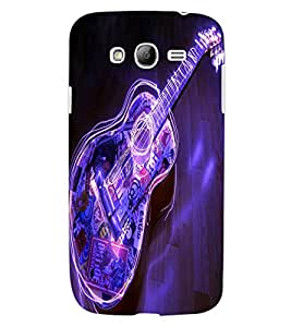 ColourCraft Guitar Design Back Case Cover for SAMSUNG GALAXY GRAND I9082