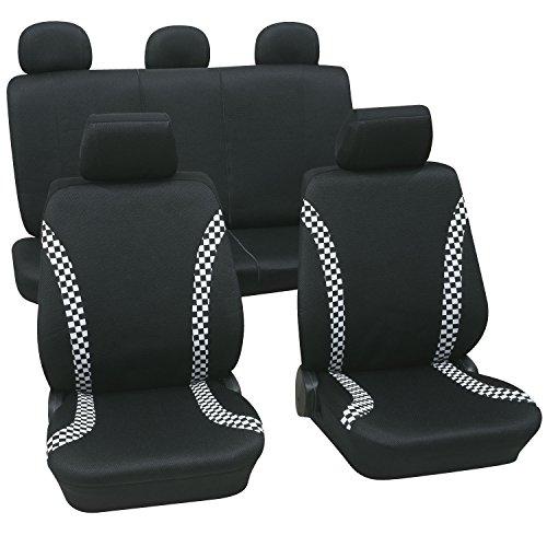 Negro cubo asiento lateral soportes//Soportes omp Sparco Cobra Carrera//Rally//Fia//MSA par/ /desierto por Speedpro