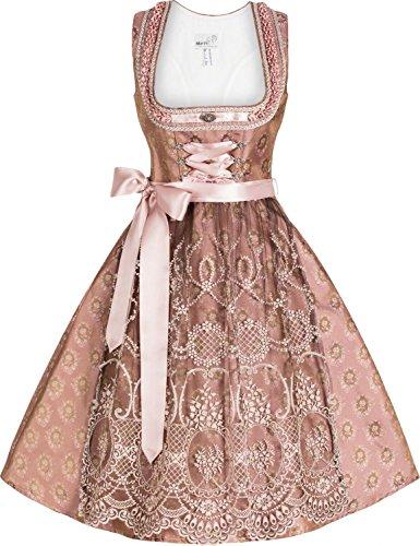 """Designer Dirndl """"Cécile"""" (altrosa) Size 36"""
