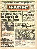 PARISIEN LIBERE (LE) [No 11921] du 17/01/1983 - CRIME SANS CADAVRE A GENNEVILLIERS - MAFIA US - LA FIN DU PARRAIN DES PARRAINS - LA LUTTE CONTRE LA FRAUDE DE TOUS LES JOURS - MITTERRAND A CELEBRE A COTONOU LES RETROUVAILLES DE LA FRANCE ET DU BENIN - LES SPORTS - FOOT - RUGBY - PARIS-DAKAR