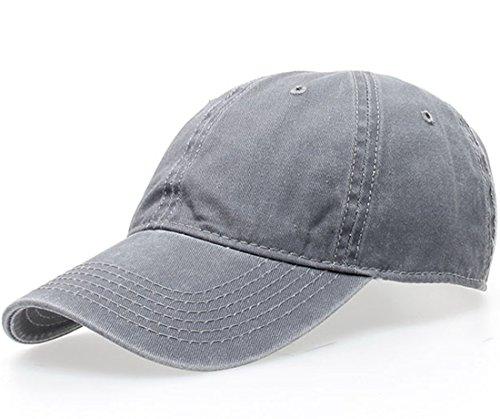 thenice-vintage-100-cotton-baseball-cap-hat-one-size-grey