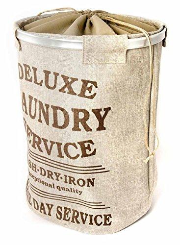 Cesto para ropa, lavandería con una capacidad de 70L, bolsa ropa para...