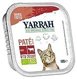 Yarrah Bio Pâté au Bœuf avec Chicorée pour Chat 100 g