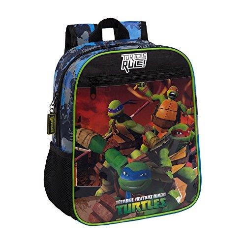 Teenage mutant ninja turtles 4612151 Tortugas Kinder-Rucksack, (Ninja Teenage Turtles Mutant Rucksack Für Kinder)