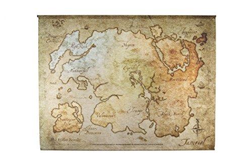 The Elder Scrolls Online Wallscroll Map