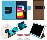 reboon LG G Pad IV 8.0 FHD Hülle Tasche Cover Case Bumper | in Braun | Testsieger