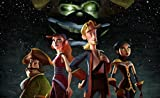 Infinite Arts Tales of Monkey Island (23inch x 14inch/57cm x 35cm) Silk Print Poster - Silk Printing - D541D3