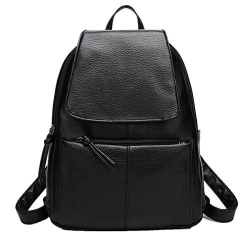 Oyedens Taschen, MäDchen PU-Leder Schulterrucksack Reisetasche Handtasche