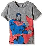 PUMA Kinder T-Shirt Fun Superman Tee B, Medium Gray Heather, 128, 836752 03