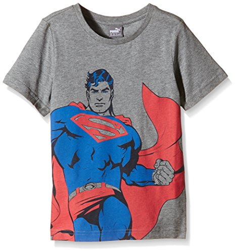 Fun Superman Tee B, Medium Gray Heather, 104, 836752 03 (Superman Outfit Kind)