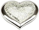 Urns UK - Urna cineraria a forma di cuore, in nickel satinato