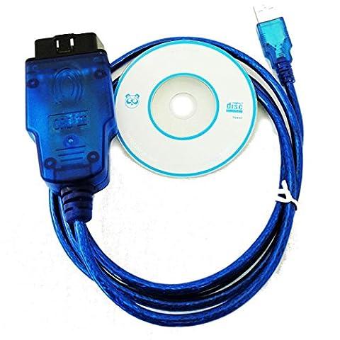 ZhenBaoTian VAG 409.1VW/Audi Obd2Vag Kkl USB Obd-Ii-2KKL 409.1Obd2Vag-Com Diagnose-Scannerkabel