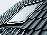 Velux Dachfenster GGU Schwingfenster 66x118cm FK06 0059 Thermo Star Kunststoff mit Eindeckrahmen für Schindeln oder Schiefer EDS