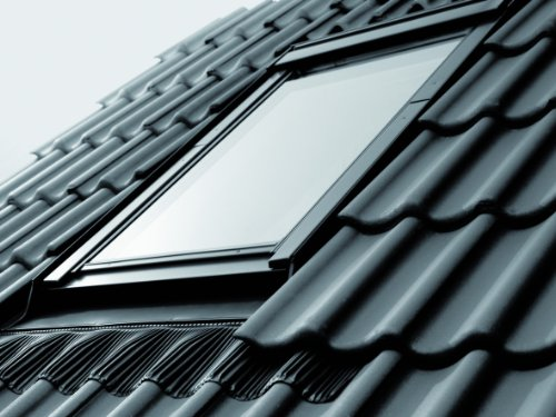 Velux Dachfenster GGU Schwingfenster 78x118cm MK06 0059 Thermo Star Kunststoff mit Ziegeleindeckrahmen EDZ 0000
