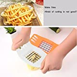 ATOOZED Potato Chips Cutter Chopper Cutting Machine French Fries Cutter Slicer