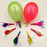 Ziggle 30 Pcs Balloon Whistles Blowouts ...