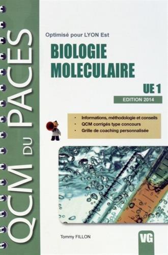 Biologie moléculaire UE1 : Optimisé pour Lyon Est