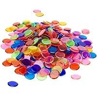 Brybelly Holdings GBIN-301 - Pack de 350 fichas de bingo mixtas