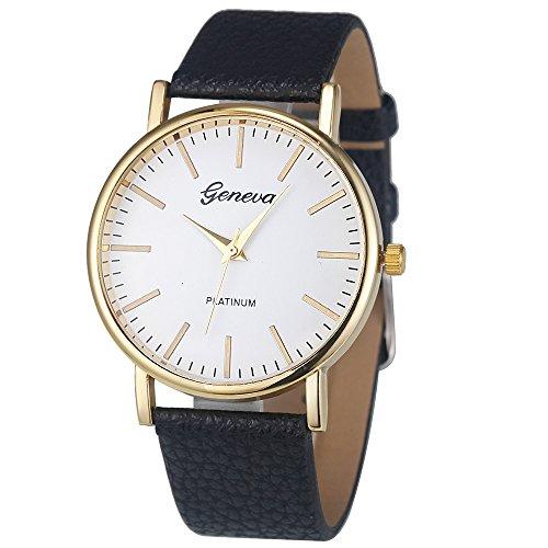 Uhren Damen Armbanduhr Mode Analog Quartz Uhr Frauen Checkers Leder Uhren Quartz Analog Wrist Watch Luxus Uhrenarmband Exquisit Uhr Wrist Watch,ABsoar