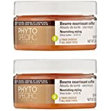 Phyto PhytoSpecific Nourishing Styling Shea Butter - Leave-In, 3.3 Oz (Pack Of 2) + Schick Slim Twin ST For Sensitive...