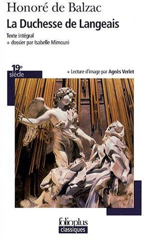 La duchesse de Langeais by Honoré de Balzac (2008-04-10) par Honoré de Balzac