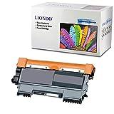 Liondo Toner kompatibel zu Brother TN-2010 TN-2220 HL-2240 2250N DN 2270DW DCP-7060D 7065DN MFC-7360N 7460DN 7860DW - Schwarz (BK) bis zu 8.000 Seiten